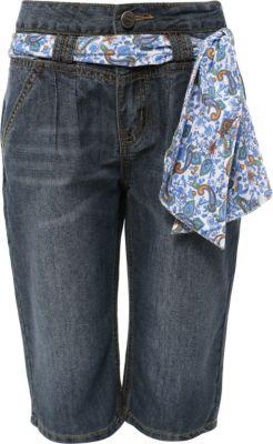 Бриджи джинсовые для девочки Finn Flare - голубой