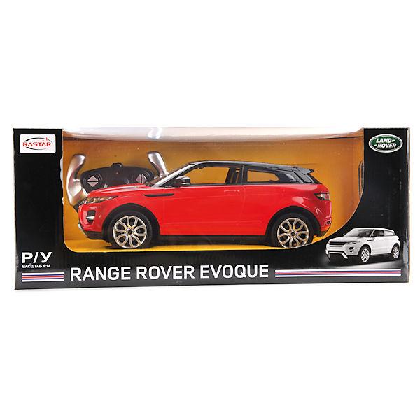 Машина RANGE ROVER EVOQUE, свет, на р/у, RASTAR, красный