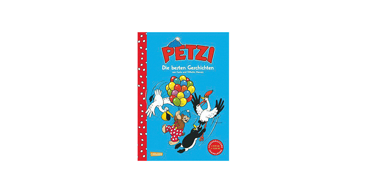 Buch - Petzi: Die besten Geschichten, Sammelband