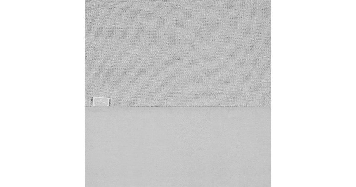 Laken Laufgittermatratze, Mini waffle, grau, 75 x 100 cm Kinder
