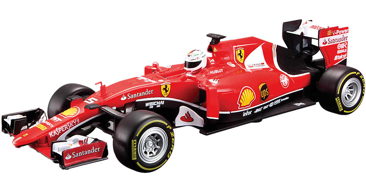 RC-Fahrzeug F1 Ferrari F15-T, Vettel 1:24