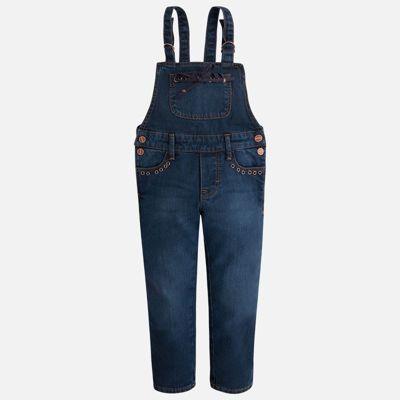Комбинезон джинсовый для девочки Mayoral - синий