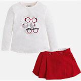 Комплект:футболка и юбка для девочки Mayoral