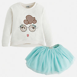 Комплект:топ и юбка для девочки Mayoral