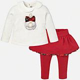 Комплект:блузка и леггинсы для девочки Mayoral