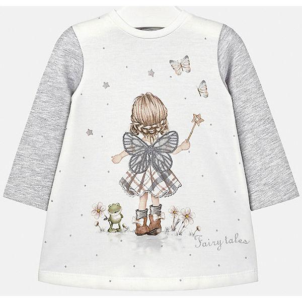 Платье для девочки Mayoral - серый