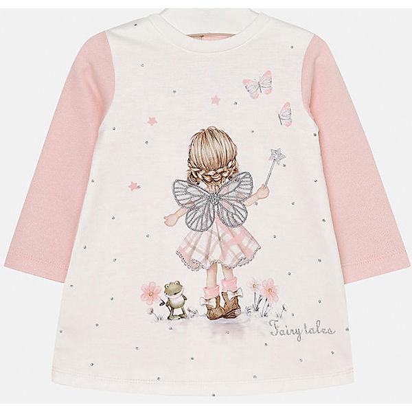 Платье для девочки Mayoral - розовый