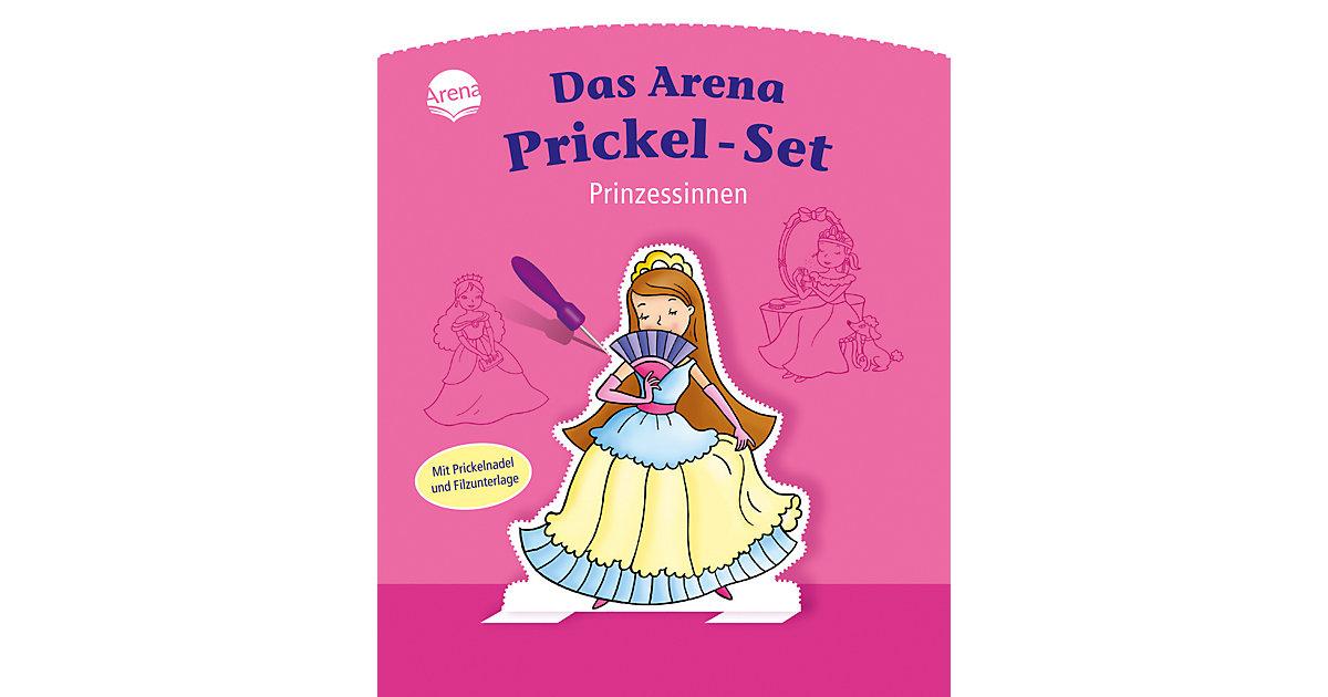 Buch - Das Arena Prickel-Set: Prinzessinnen