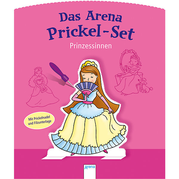 Das Arena Prickel-Set: Prinzessinnen
