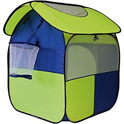 """Палатка """"Радужный домик"""", с баскетбольной корзиной и шариками для игры"""