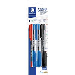 Шариковая ручка Stick, 0,5мм, 6 шт.