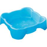 Песочница квадратная, голубая, PalPlay
