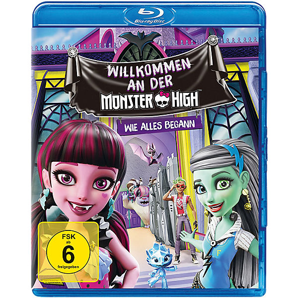 BLU-RAY Monster High - Willkommen an der Monster High