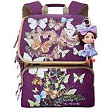 Школьный рюкзак, фиолетовый