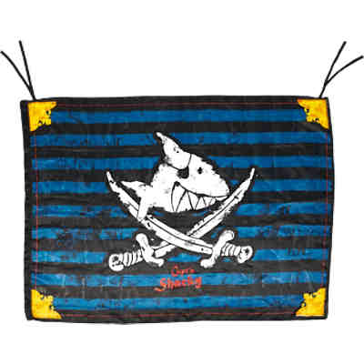 Piratenflagge Capt'n Sharky (100 x 70 cm)