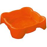 Песочница квадратная, оранжевая, PalPlay
