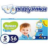 Подгузники Ultra Comfort для мальчиков мега 5, 12-22 кг, 56шт., Huggies