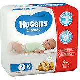 Подгузники Classic 2, 3-6 кг, 18шт., Huggies