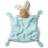 Заяц комфортер бирюзовый, коллекция Плюм, Kaloo