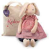 Заяц большой в сумочке, коллекция Розочка, 55 см, Kaloo