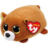 """Мягкая игрушка """"Бурый медведь"""", Teeny Tys, Ty"""
