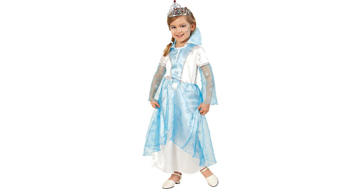 Kostüm Schnee-Prinzessin Gr. 116 Mädchen Kinder