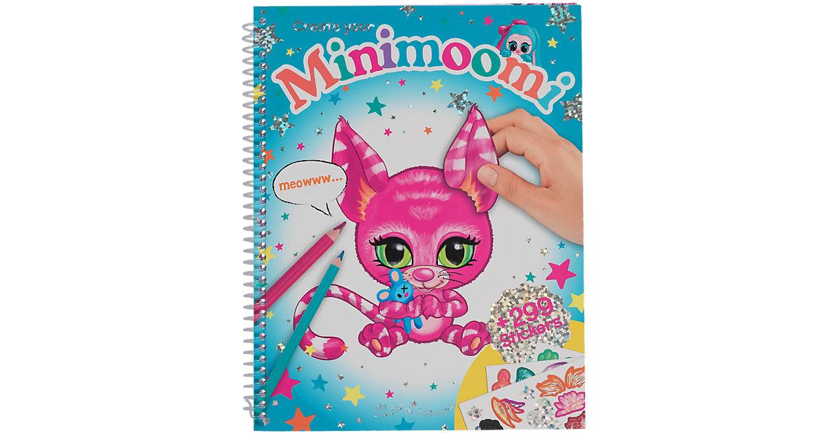 Buch - Create your Minimoomi Malbuch