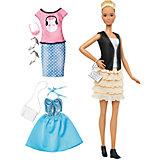 Кукла + набор одежды, Barbie