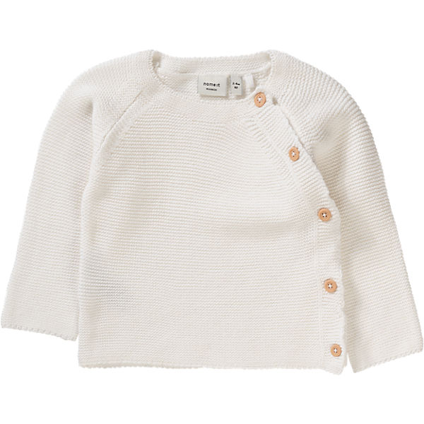 Baby Strickjacke NITSKY Oragnic Cotton