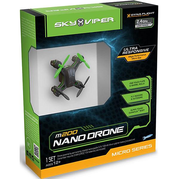 Радиоуправляемый Нано Дрон m200, Sky Viper