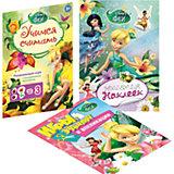 Комплект для девочек (наклейки, раскраски, игры)