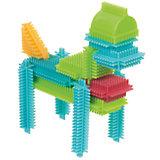 Конструктор игольчатый в коробке, 56 деталей, Bristle Blocks