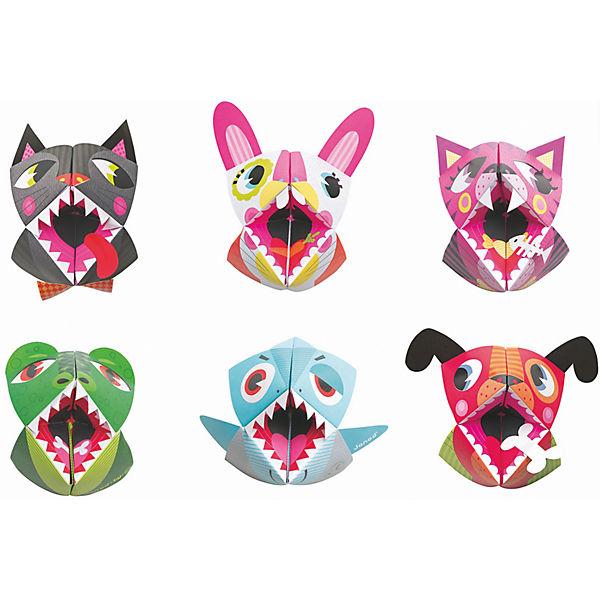 """Набор для творчества: оригами """"Животные"""", 6 карточек"""