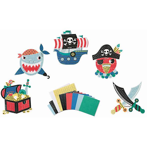 """Набор для творчества: мозайка """"Пираты"""", 5 карточек"""