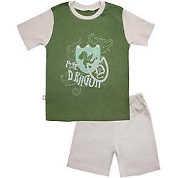 Пижама: футболка и шорты для мальчика КотМарКот