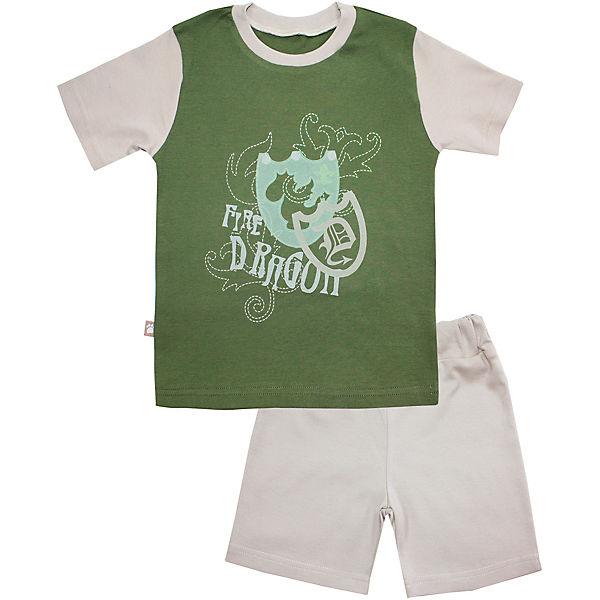 Пижама: футболка и шорты для мальчика KotMarKot