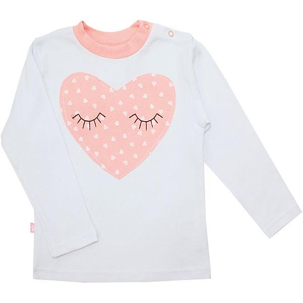 Пижама: футболка с длинным рукавом и штаны для девочки KotMarKot
