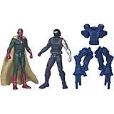 Набор из 2 фигурок Мстителей Vision vs Winter Solder