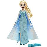 Кукла Эльза в наряде с проявляющимся рисунком, Холодное Сердце