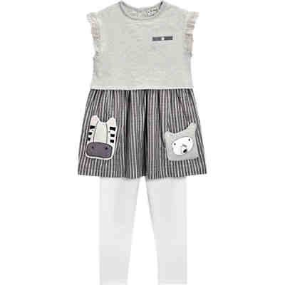 Set Kinder Kleid + Leggings