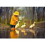 """Пазл """"Друзья под дождем"""", 500 деталей, Castorland"""
