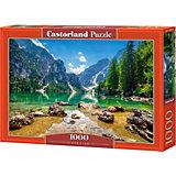 """Пазл """"Озеро в горах"""", 1000 деталей, Castorland"""