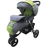 Прогулочная коляска Voyage, Baby Hit, серый/зелёный