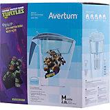 Фильтр-кувшин для очистки воды «Детский» 2,8 л. «Черепашки ниндзя», Little Angel, бирюзовый