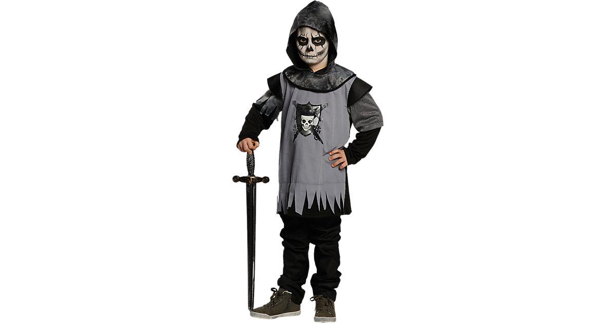 Kostüm Totenkopf Ritter Gr. 116 Jungen Kleinkinder