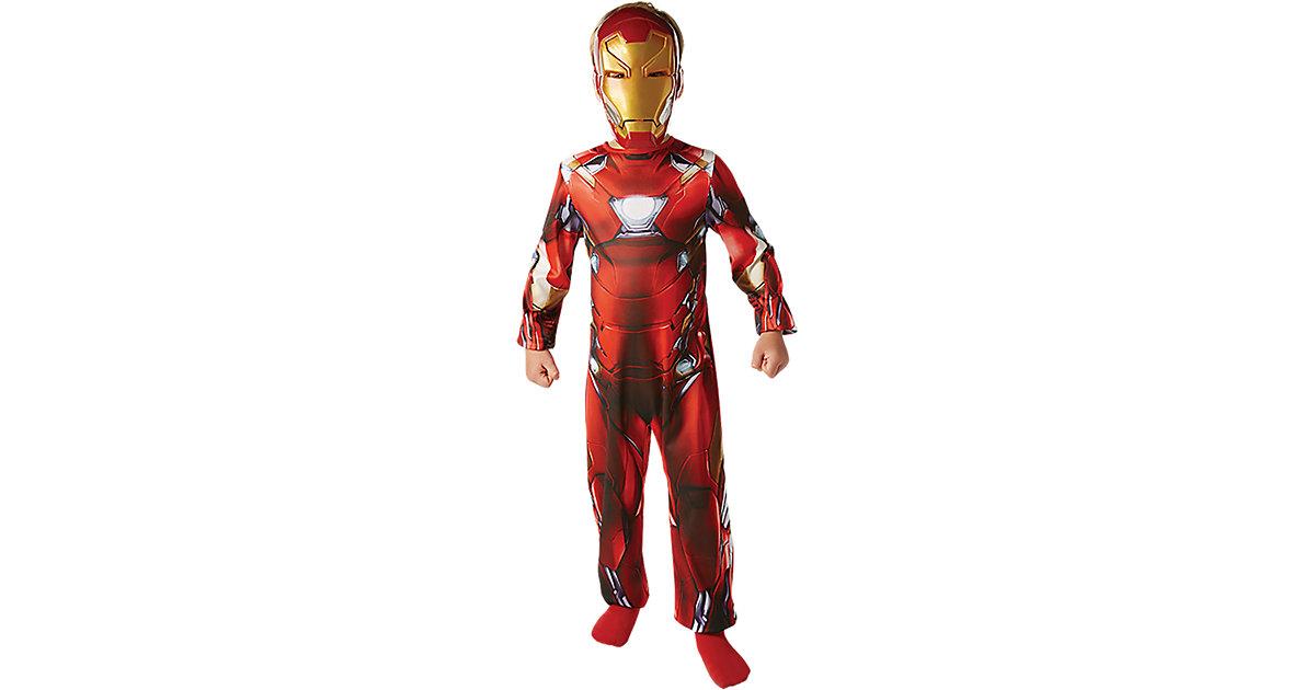 Rubie´s Kostüm Iron Man Classic Civil War Gr. 128/140 Jungen Kinder