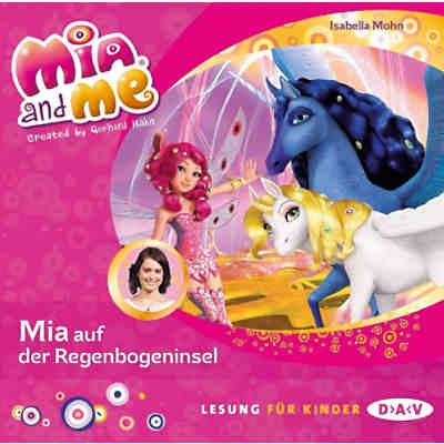 Mia and me: Mia auf der Regenbogeninsel, 1 Audio-CD