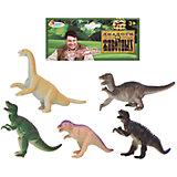 Набор из 5-и динозавров, 13см, Играем вместе