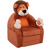 """Раскладывающееся кресло-игрушка """"Лев"""""""