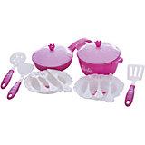 Набор кухонной посудки, 15 предм, Барби, Нордпласт